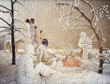 SANDY SKOGLUND | Raining popcorn, 2001