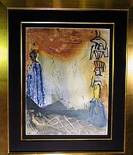 Dali Moses & Monotheism Nightmare of Moses Hand Sig Dali Archives Certified