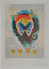 Dali Wealth, Health, Fame & Love Hand Signed Dali Archives Certified