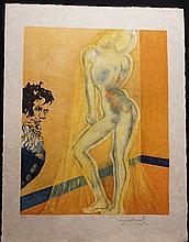 Dali The Marquis de Sade Allegory Chevalier's Dream Dali Archives Certified