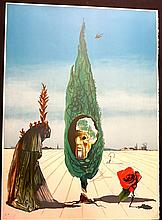 Dali Visions Surrealiste Enigma of The Rose H Sig Dali Archives Certifies