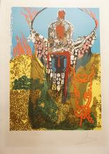 Dali The Bullfighter Hand Signed