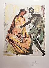 Dali Les Amoureux Anthony & Cleopatra Hand Sig
