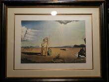 Dali Les Betes Sauvages Dans le Desert Hand Signed Dali Archives Certified