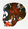 Skull spin painting (created at Damien Hirst Spin Workshop), Damien Hirst, $1,500