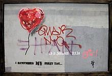 Bandaged Heart Balloon, NYC, 2013