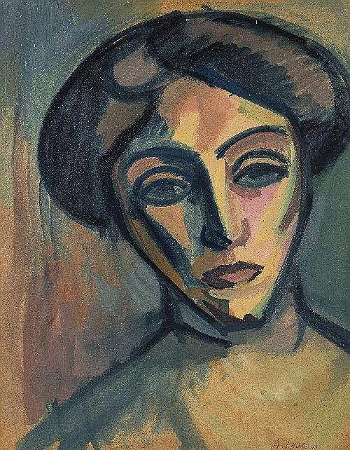 Portrait de Madame B.