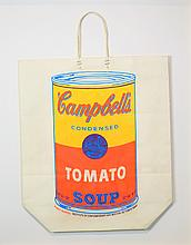 Andy WARHOL (American, 1928-–1987) Campbell's Soup Can Shopping Bag, 1966
