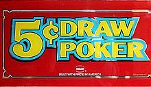 Vintage Collectible Casino Slot Machine Glass
