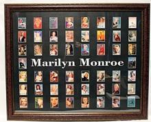 Marylin 50 Licensed Cards, Custom Framed.