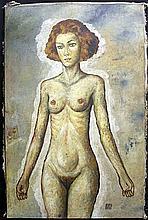 Original/Mixed Media Oil on Canvas By Egon Schiele