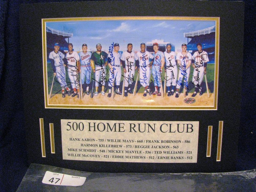 500 HOME RUN CLUB