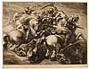 LEONARDO DA VINCI, Combat de 4 Cavaliers - Reitergefecht -Schlacht von Anghiari,  Leonardo