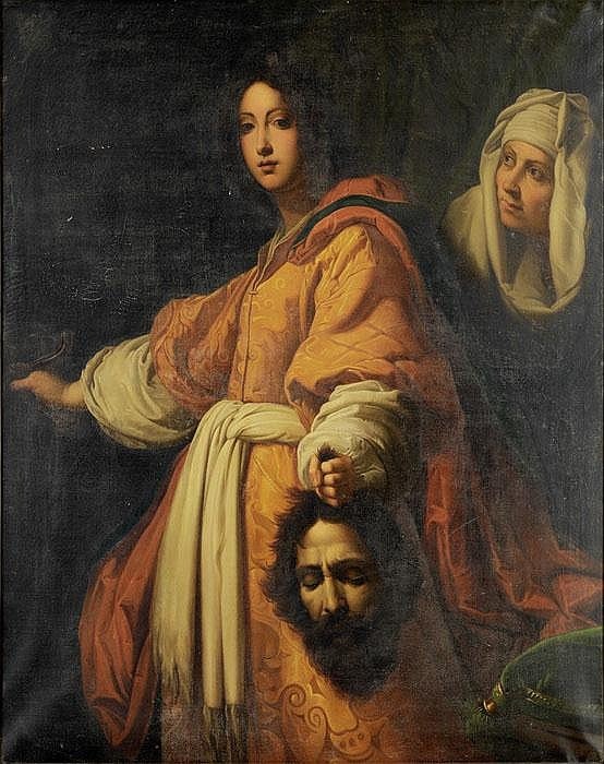 CRISTOFANO ALLORI Kopie nach  Judith mit dem Haupt des Holofernes