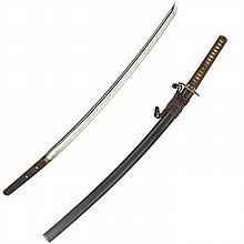 Kurzschwert/Ô-Wakizashi, japanisch, dat. 1526