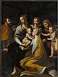 Madonna mit Kind, hl. Margarethe, hl. Josef, Engel, hl. Anna und Johannesknaben