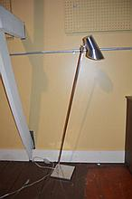 Modern chrome color floor lamp