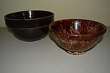 Brown Mixing Bowls