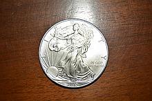 2013 Uncirculated Walking Liberty Silver Dollar