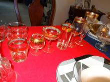 Gold Rimmed Glasses