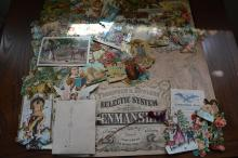 Large lot of early stickers