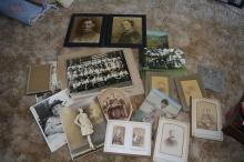 Large grouping of early photos