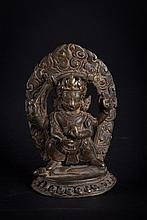 A statue of Acala (?) Nepal, 19th Century