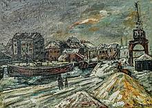 "Marc Mussier (attr) ""Aubervillier"" France, 1934"