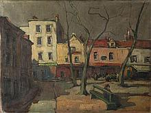Townscape, French School France, 19th Century