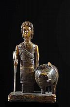A amber figure of a warrior Europe, 19th (?) Century