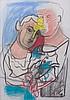 SandroChia(Florence 1946) Senza titolo (Untitled), mixed media on paper