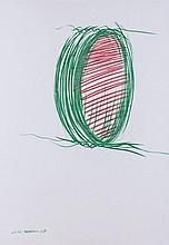 EliseoMattiacci(Cagli 1940) Senza titolo (Untitled), 1963, mixed media on paper