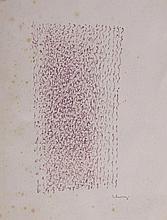Mario De Luigi(Treviso 1908 - Venice 1978) Senza titolo (Untitled), marker pen on paper