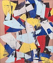 LuigiMontanarini(Florence 1906 - Rome 1998) Senza titolo (Untitled).1975, oil on canvas