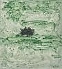Carlo Mattioli(Modena 1911 - Parma 1994) Paesaggio (Landscape), mixed media on paper