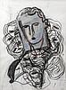 SandroChia(Florence 1946) Senza titolo (Untitled), 1989, mixed media on paper