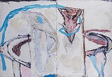 Mimmo Paladino(Paduli 1948) Senza titolo (Untitled), 1979, mixed media on board