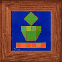 AchillePerilli(Rome 1927) Pio, 2007, oil on canvas