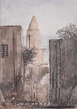 PietroAnnigoni(Milan 1910 - Florence 1988) Senza titolo (Untitled), mixed media on paper