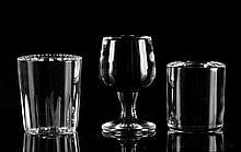 Carlo Benvenuto(Stresa 1966) Bicchieri (Glasses), glass sculpture