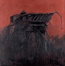 Carlo Mattioli(Modena 1911 - Parma 1994 ) La cattedrale (The Cathedral), 1970, oil on canvas
