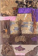 AndreaRaccagni(Imola 1921 - Bologna 2005) Senza titolo (Untitled), multimedia on board