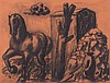 HermannAlbert(Ansbach1937) Senza titolo (Untitled), 1988, charcoal on paper