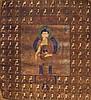A Thangka depicting Buddha Tibet, 18th Century