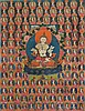 Thangka depicting Vajrasattva Tibet, 18th century