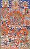 A Thangka depictingHayagriva Mongolia, late 19th Century
