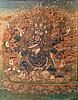 A Thangka depictingMahākāla Tibet, 19th Century