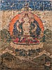 AThangka depictingAvalokitesvara China/Tibet, 18th Century