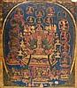 Thangka Bon portraying Chime Tsugpu Tibet, 18th Century