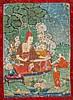 A Thangka depicting a teacher China/Tibet, 19thCentury